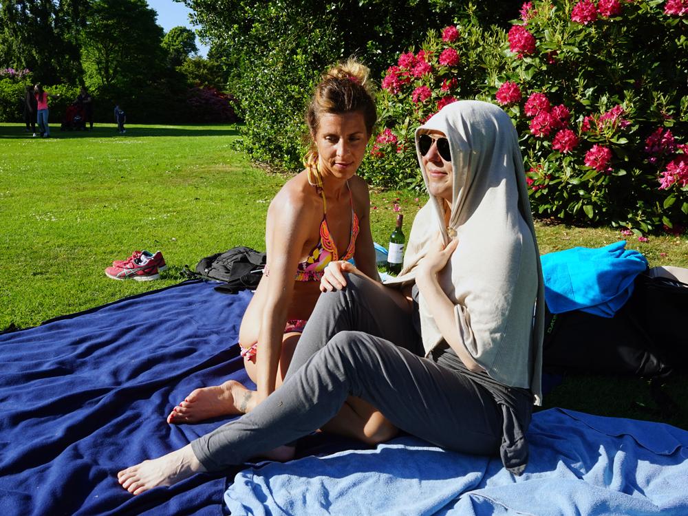 Yvonne en Farida