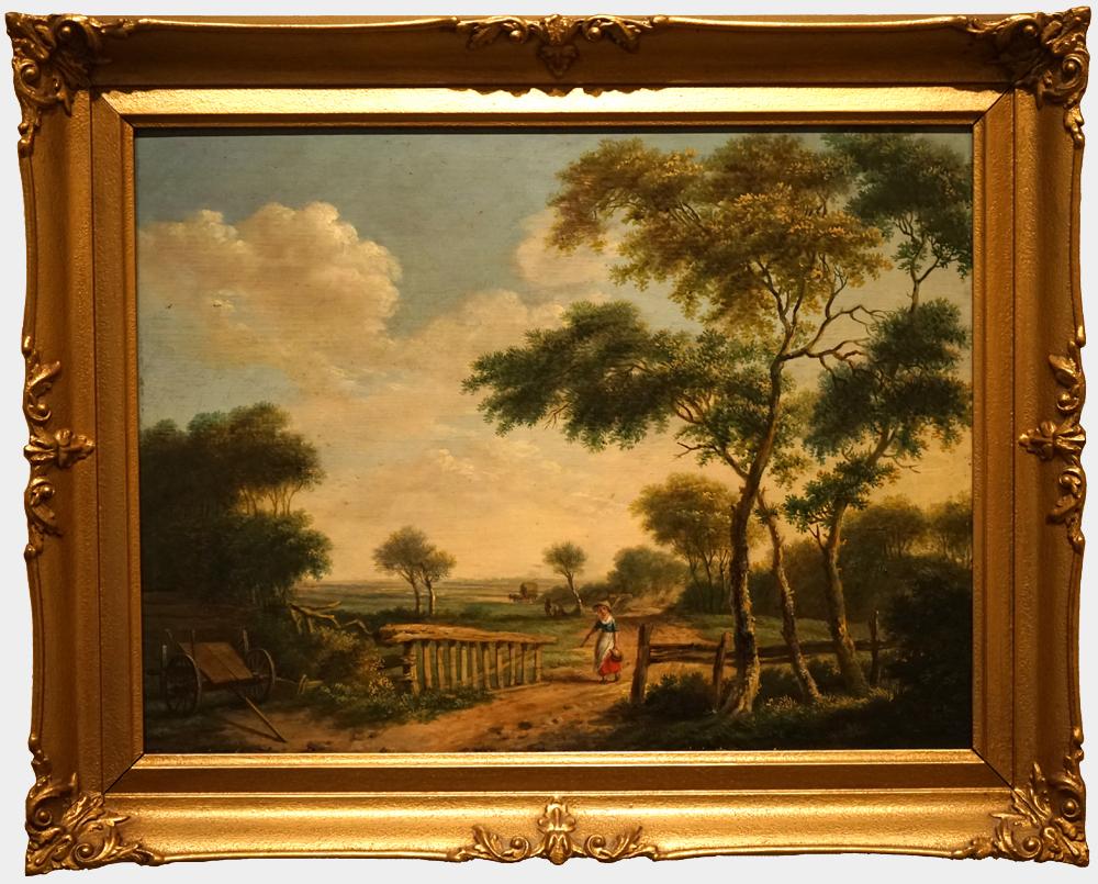 Afbeelding: Zomergezicht bij Groningen Albarta ten Oever 1806